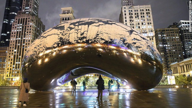 "Scott said he hopes his work can act as a catalyst for regeneration, like one of his favorite pieces -- Anish Kapoor's ""Cloud Gate in Chicago."""