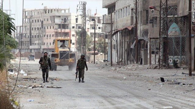 Syrian troops retake Sbeineh after siege