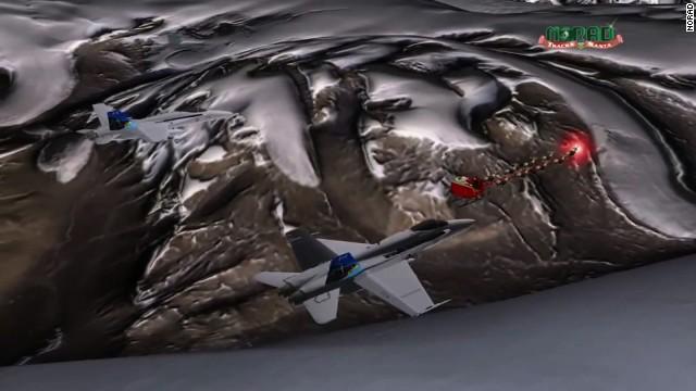 ¿Dos jets del Ejército de EE.UU. escoltarán este año a Santa Claus?