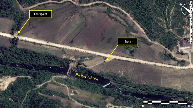 According to Amnesty International, satellite images captured by Digital Globe show evidence of North Korean prison camps.
