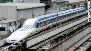 Japan places future bet on maglev trains