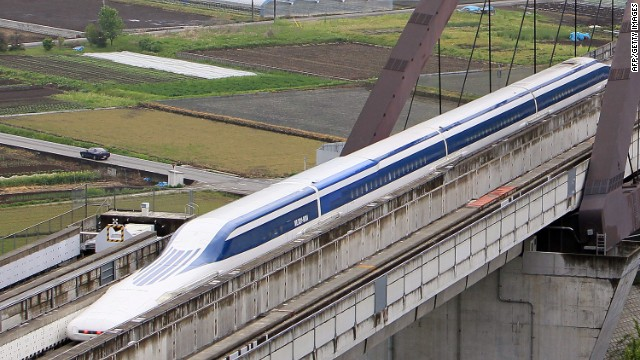 Betting big on maglev trains...
