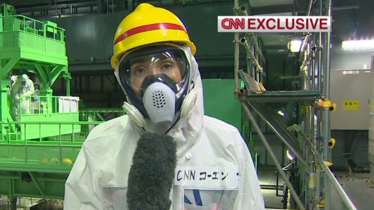 An inside look at Fukushima plant...