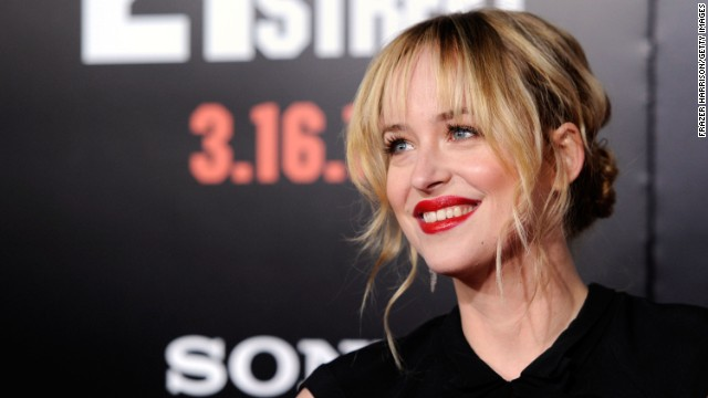 "Dakota Johnson's casting as naive student Anastasia Steele was controversial, but the actress has said that she really ""understands"" E L James' sensual trilogy. ""I think it's an incredible love story,"" she told <a href='http://insidemovies.ew.com/2013/11/16/dakota-johnson-fifty-shades/' target='_blank'>Entertainment Weekly</a>. The 24-year-old, the daughter of Don Johnson and Melanie Griffith, has previously appeared in ""The Social Network,"" ""21 Jump Street"" and the short-lived sitcom ""Ben and Kate."""