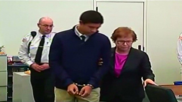 Philip Chism attends an arraignment in 2013.