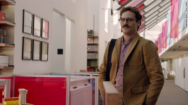 Joaquin Phoenix stars in the Spike Jonze film