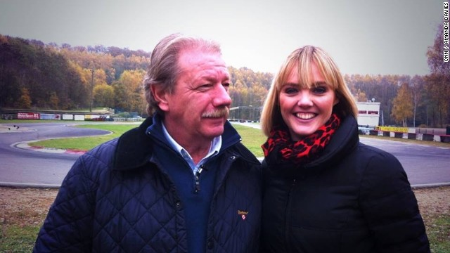 German karting coach Gerhard Noack helped shape the careers of Schumacher and four-time world champion Sebastian Vettel at the Kerpen track. CNN presenter Amanda Davies went to meet Noack for a rare television interview.