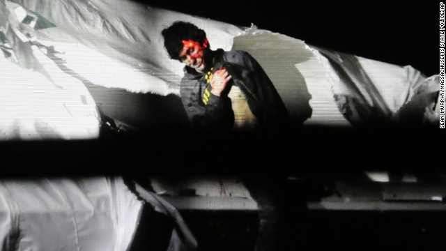 Tsarnaev was found on April 19, 2013, in a boat that was dry-docked in the backyard of a Watertown, Massachusetts, home. He was covered in blood from bullet wounds suffered during a manhunt that brought Boston to a standstill.