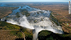 Victoria Falls is said to be one of the world\'s seven natural wonders.