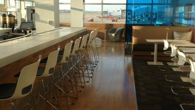 Pay to wait comfortably in an airport lounge.