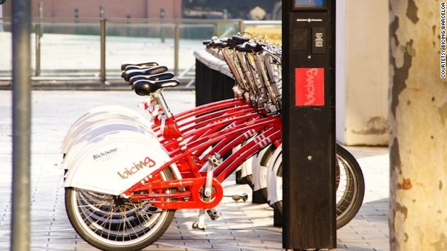 Barcelona's bike share program, Bicing, was introduced in 2007 and averages 10.8 trips per bike per day and 67.9 trips per 1,000 residents. Unfortunately, Bicing is by membership only and not available for tourists.