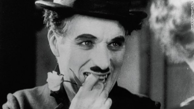 "Charlie Chaplin performs in 1931 film ""City Lights."" New behind-the-scenes footage reveals the actor and director made his co-star, Virginia Cherrill, re-do one scene 342 times."