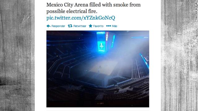 Se reporta explosión en estadio cubierto de Ciudad de México antes de un juego de NBA