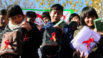 Discrimination hinders China's AIDS fight