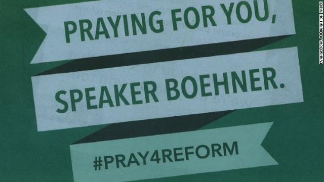 Evangelicals: Pray for Boehner on immigration reform