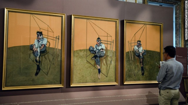 """Three Studies of Lucian Freud,"" a 1969 painting by Francis Bacon, sold for $142.4 million in November, breaking the record for the most expensive piece of art ever auctioned."