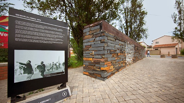 You can learn about Soweto's past as a center of anti-apartheid struggle at the Hector Pieterson Museum, named after a 13-year-old boy shot dead by police.