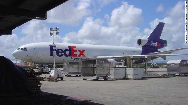 The DC-10 is still commonly used by cargo companies, such as FedEx and Purolator.