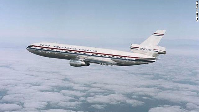 When it debuted, the DC-10 represented a new category of airplane -- the three-engine, dual-aisle wide-body.