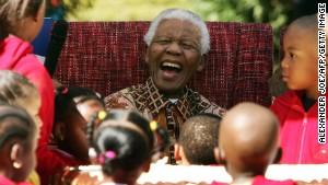 Township 'still thanking Papa Madiba'