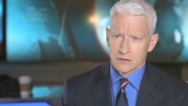 "CNN's Anderson Cooper says he always idolized anchorman Ron Burgundy. See ""Anchorman 2"" in theaters December 18th."