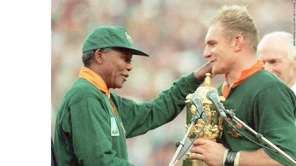 El legado en los deportes de Mandela