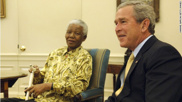 Former presidents to travel to Mandela memorial