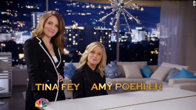 Tina Fey and Amy Poehler: Sneak peek at Globes
