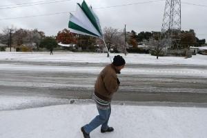 Tormenta invernal en Estados Unidos