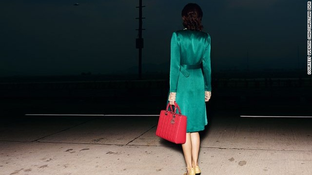 Quentin Shih became something of a regular contributor to the house of Dior, and also took this mysterious image titled <i>A Chinese Woman with a Lady Dior Handbag</i> in 2011.
