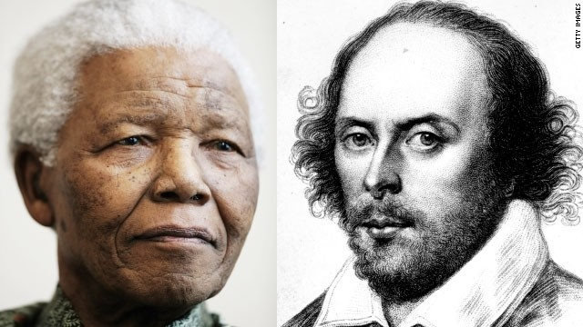 Words of Wisdom: How Shakespeare's words inspired Nelson Mandela.