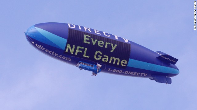 DIRECTV began its airship promotion in 2007.