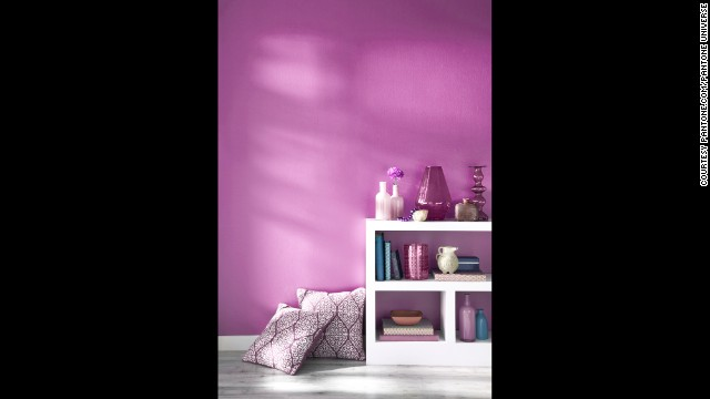 "Pantone describes radiant orchid as ""captivating, magical and enigmatic."""
