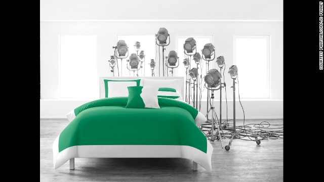 "In 2013, emerald was Pantone's choice for color of the year. The company called it a ""symbol of growth, renewal and prosperity."""