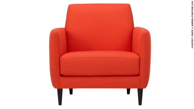Tangerine tango was Pantone's pick for color of the year in 2012.