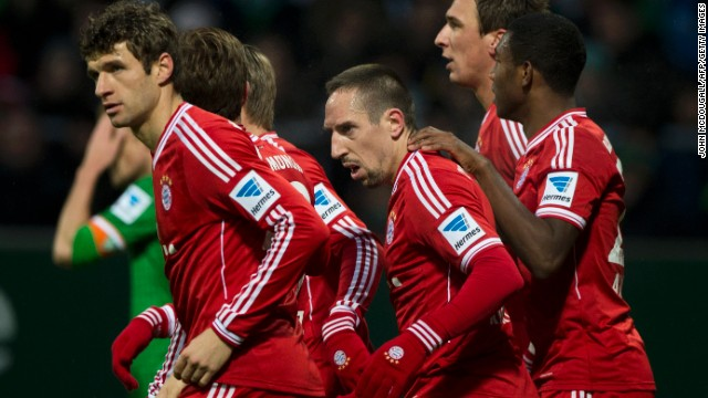 No team has ever retained the Champions League title -- but Bayern will be fancied to become the first. It won 3-1 at Arsenal last season but only sneaked through to the last eight on away goals after suffering a 2-0 home defeat.