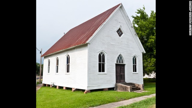 <a href='http://pableaux.com/' target='_blank'>Pableaux Johnson</a> converted this 1,400-square-foot Methodist church built in 1904 into a loft home. The church in St. Martinville, Louisiana, was on the brink of being torn down when Johnson bought it.