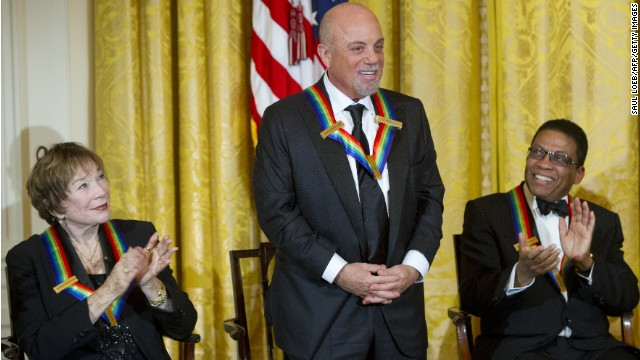 Billy Joel, Shirley MacLaine, three others recognized at Kennedy Center Honors
