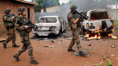 U.S. military to intervene in CAR