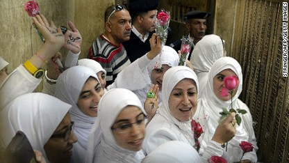 Egypt court to release jailed women