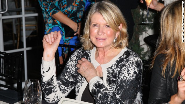 Last year domestic goddess Martha Stewart hobnobbed with art lovers at a dinner hosted by fashion guru Daphne Guinness during Art Basel.