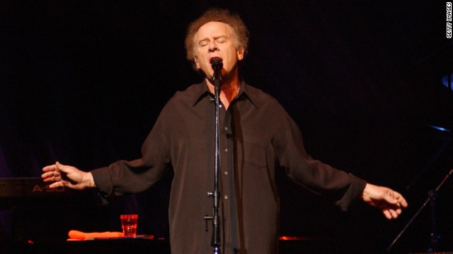Singer Art Garfunkel has said he soaked in the Dead Sea during a trip to Israel to treat his psoriasis.