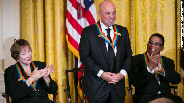 Shirley MacLaine, Billy Joel soak up Kennedy Center Honors