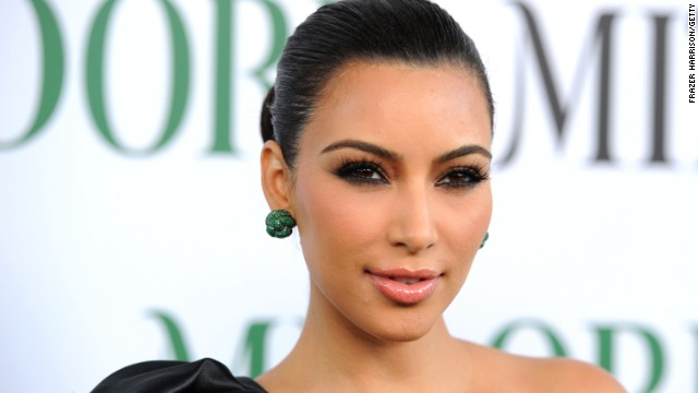 "Television personality Kim Kardashian invited cameras into the doctor's office with her when she was diagnosed with psoriasis while shooting her family's reality show ""Keeping Up With the Kardashians."""
