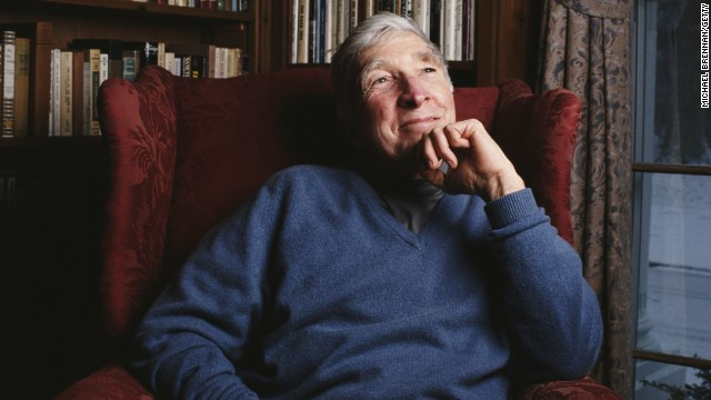 "Celebrated American novelist <a href='http://www.newyorker.com/archive/1985/09/02/1985_09_02_039_TNY_CARDS_000341187' target='_blank'>John Updike</a> wrote about his battle with psoriasis in a piece for ""The New Yorker"" titled ""At War With My Skin."""