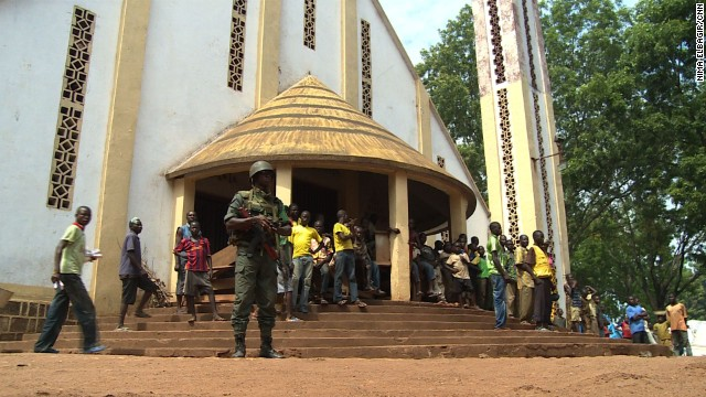 Peacekeeping mission steps up in CAR