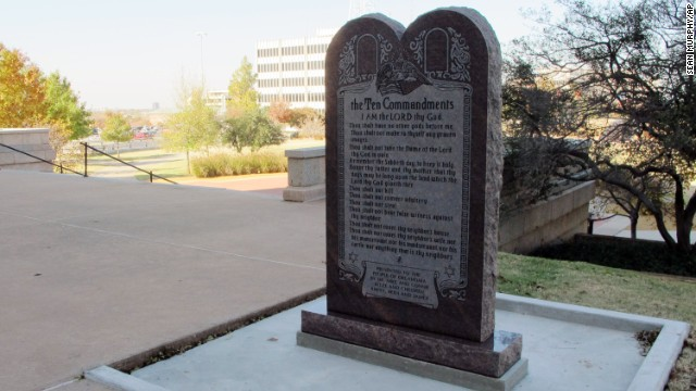 Satanists want statue next to 10 Commandments