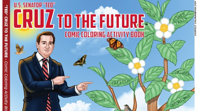 Sen. Ted Cruz gets a coloring  book