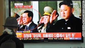 A South Korean man watches TV news about the dismissal of Jang Song Thaek, North Korean leader Kim Jong-Un\'s uncle\n