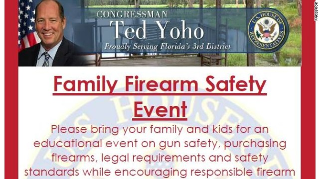 Congressman hosts gun safety event for kids on Newtown anniversary